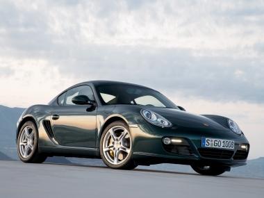 Коврики из экокожи 3D  Porsche Cayman I (987) 2005-2012