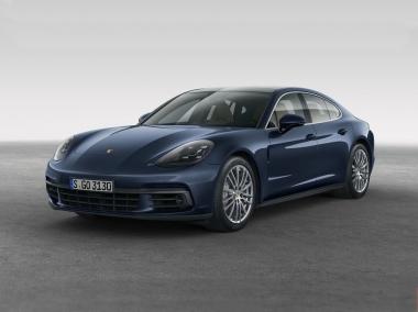 Коврики из экокожи 3D  Porsche Panamera II 2016 - наст. время