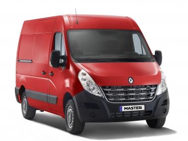Коврики из экокожи 3D  Renault Master III 2010 - наст. время