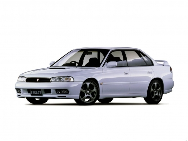 Коврики из экокожи 3D  Subaru Legacy II 1993-1999
