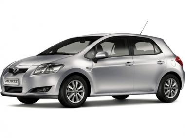 Коврики из экокожи 3D  Toyota Auris I 2006 - 2012 (правый руль)