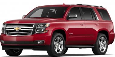 Коврики из экокожи 3D  Chevrolet Tahoe IV 7 мест 2014 - наст. время