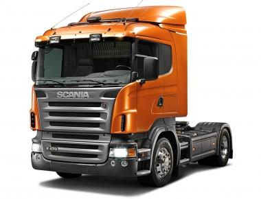 Коврики EVA Scania 5P (механика)