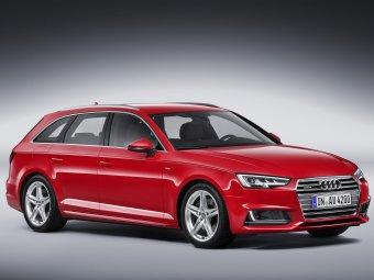 Текстильные коврики Audi A4 (B9) 2015 - н.в (универсал)