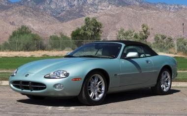 Текстильные коврики Jaguar XK I 1996-2006
