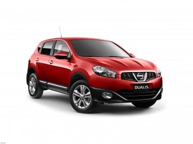 Текстильные коврики Nissan Dualis 2007-2014 (правый руль)