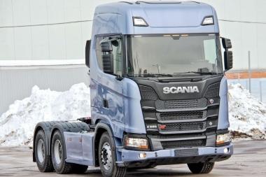 Текстильные коврики Scania 6S (автомат)
