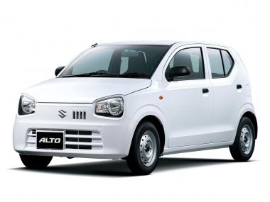 Текстильные коврики Suzuki Alto 2014-н.в. (правый руль)