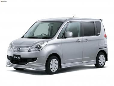 Текстильные коврики Suzuki Solio II 2010-2015 (правый руль)