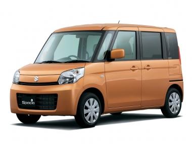 Текстильные коврики Suzuki Spacia I 2013-2017 (правый руль)