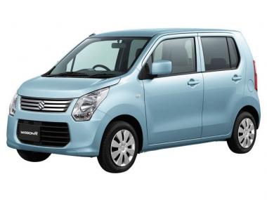 Текстильные коврики Suzuki Wagon R V 2012-2017