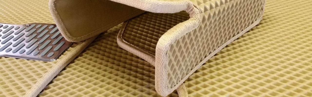 Как снять лекала для автомобильных ковриков?