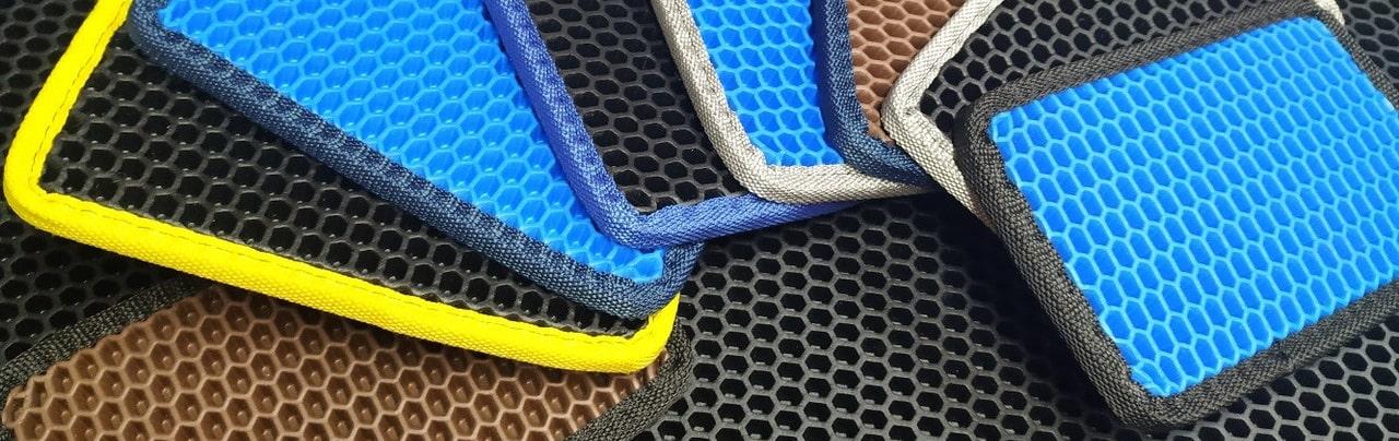 Автомобильные коврики EVA соты