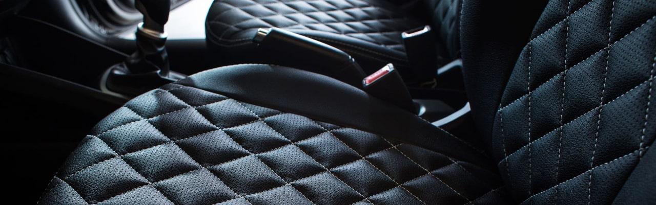 Автомобильные чехлы из экокожи