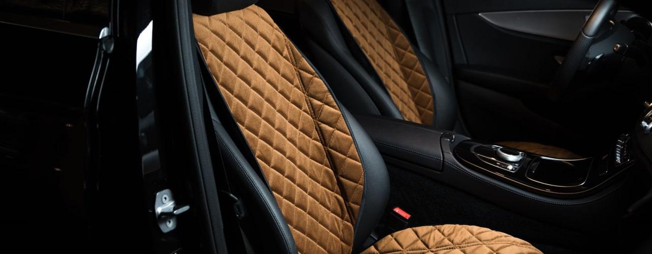 Накидки на сидения коричневая