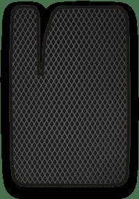 EVA коврик черный с черным кантом