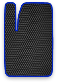 EVA коврик черный с красным кантом