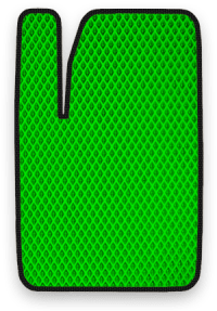 EVA коврик зеленый с черным кантом