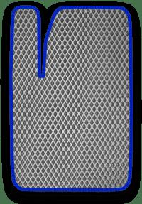 EVA коврик серый с синим кантом