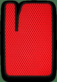 EVA коврик красный с черным кантом