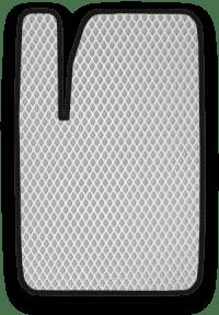EVA коврик белый с черным кантом
