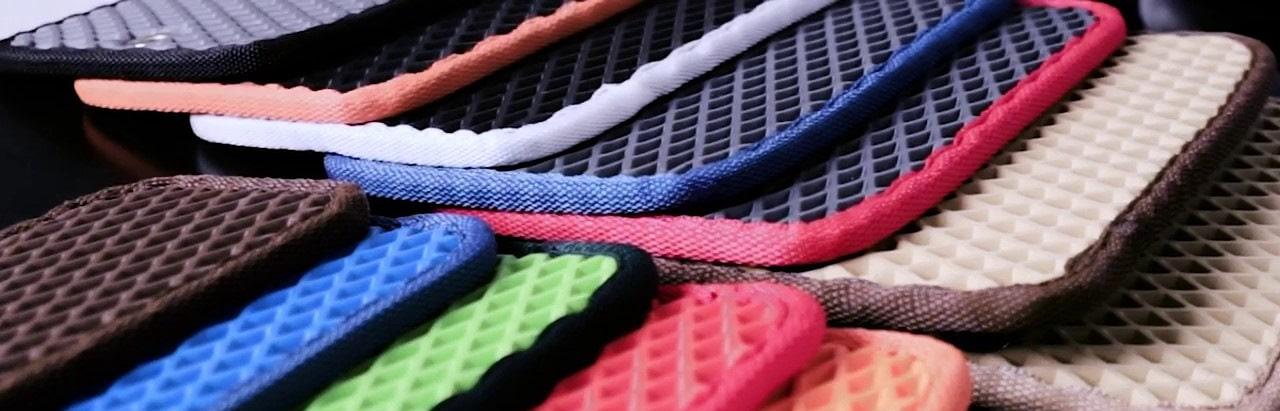 Автомобильные коврики EVA ромб